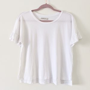 Abercrombie & Fitch White T Shirt Small